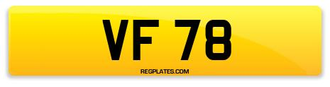 Registration VF 78