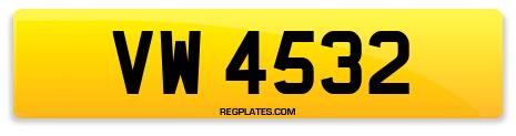 Registration VW 4532