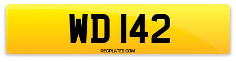 Registration WD 142