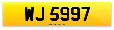 Registration WJ 5997