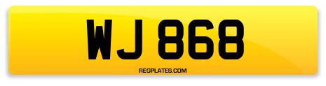Registration WJ 868