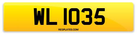 Registration WL 1035