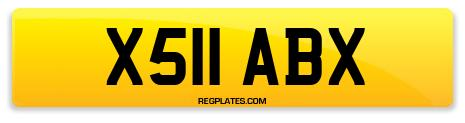 Registration X511 ABX