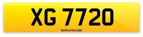 Registration XG 7720