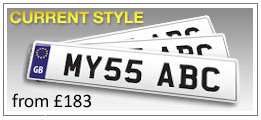 Cloned Personalised Number Plates